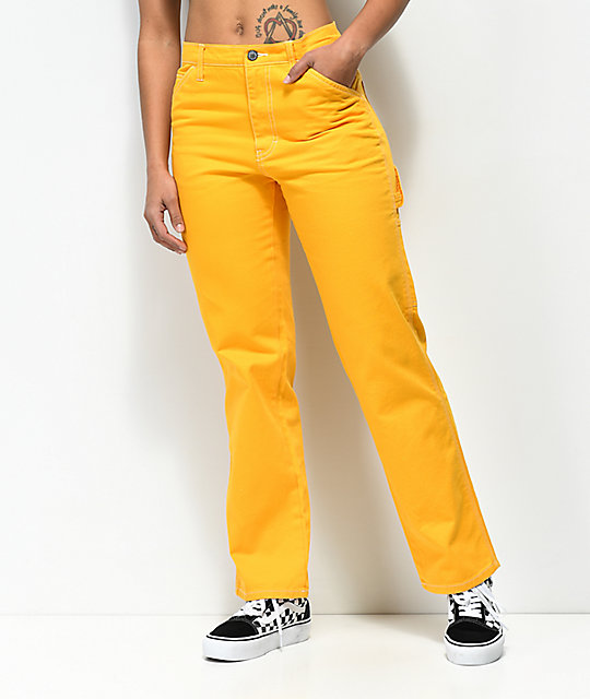 Dickies Yellow Carpenter Pants