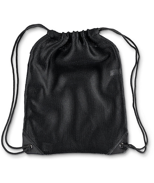 Dimepiece Catching Flights Black Cinch Backpack