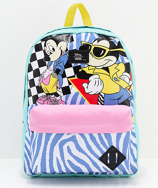 26edb95f8ab Disney by Vans 80 s Mickey Old Skool II Backpack
