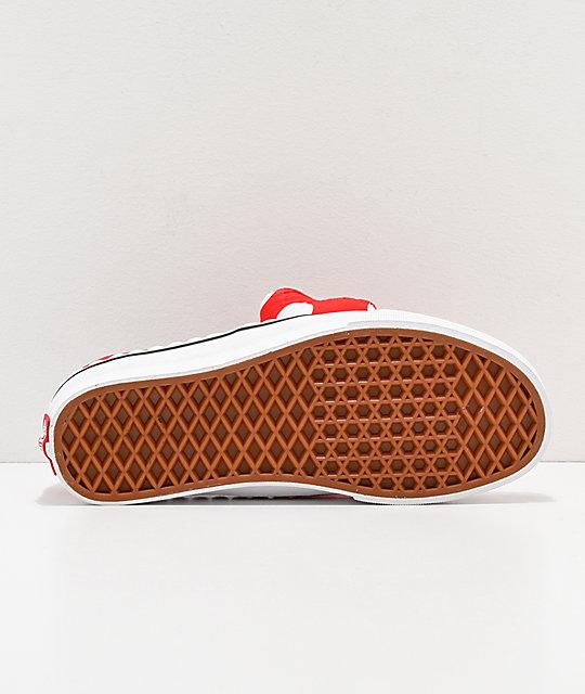 c33ef2269e8e ... Disney by Vans Authentic Minnie s Bow Slip-On Skate Shoes