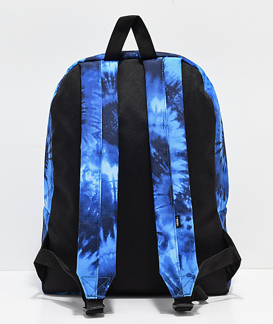 Disney by Vans Mickey Fantasia Blue Tie Dye Old Skool II Backpack