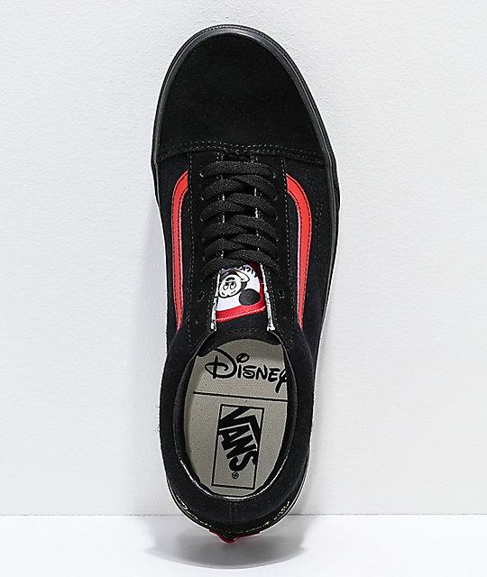 ... Disney by Vans Old Skool Mickey Mouse Club zapatos skate en negro ... 4096e191144