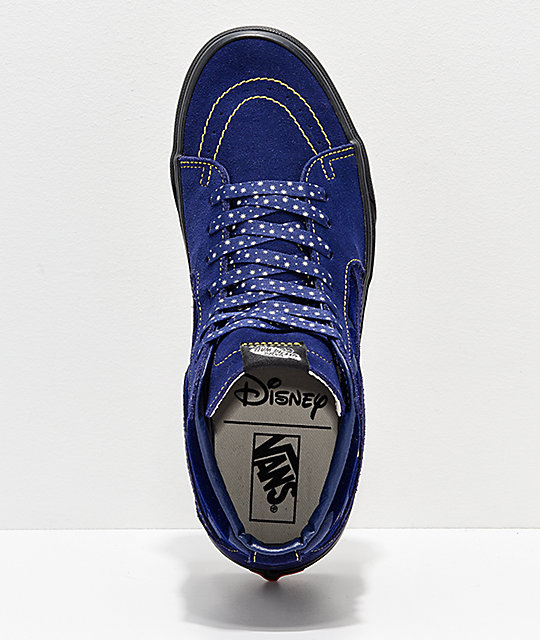 7840ba9a29 ... Disney by Vans Sk8-Hi Sorcerer s Apprentice Skate Shoes ...