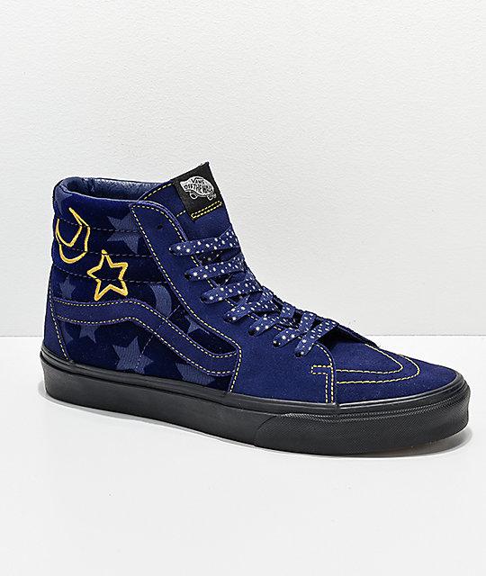 c3439a3ce0 Disney by Vans Sk8-Hi Sorcerer s Apprentice Skate Shoes