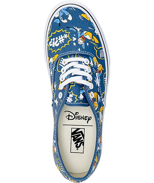 ba692b67da ... Disney x Vans Authentic Donald Duck Skate Shoes ...