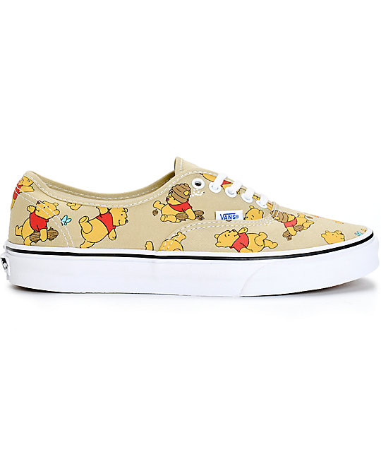 ... Disney x Vans Authentic Winnie The Pooh Skate Shoes 014094363b