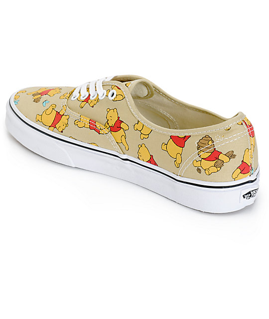 ... Disney x Vans Authentic Winnie The Pooh Skate Shoes ... f8193591d3