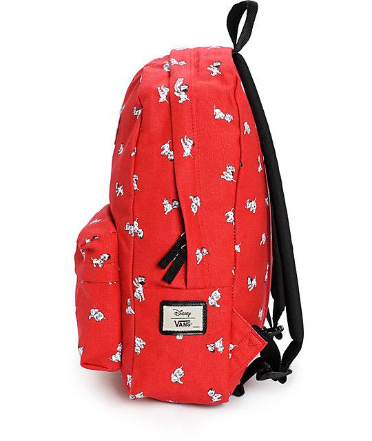 9d7729ccd12 ... Disney x Vans Dalmatian Red Backpack ...