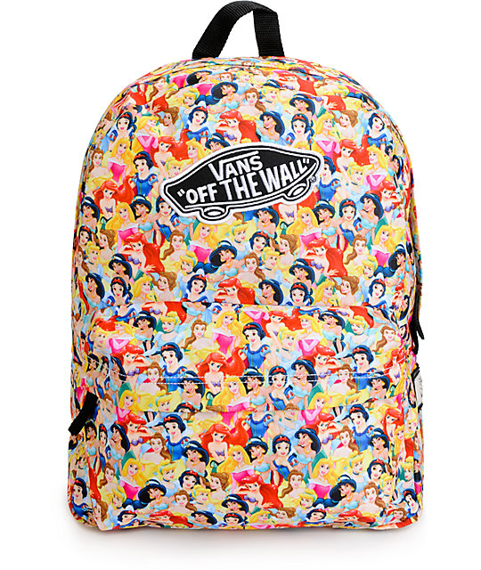 f8c6f3a15fc Disney x Vans Multi Princess Backpack | Zumiez