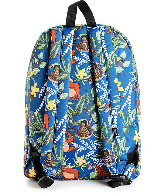 21dfe42b07 ... Disney x Vans Old Skool II The Jungle Book Backpack ...