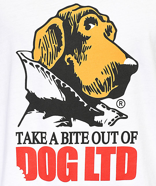 Dog Limited Bite White T-Shirt