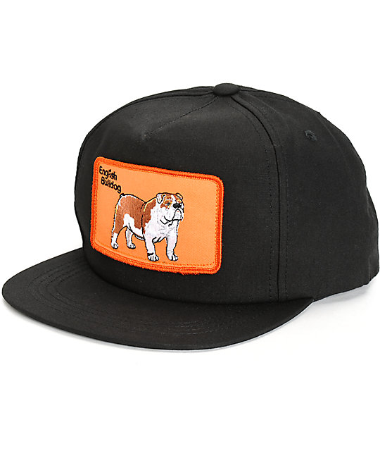 Dog Limited English Bulldog Snapback Hat  63a559941ae