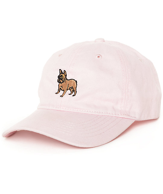Dog Limited French Bulldog Pink Dad Hat
