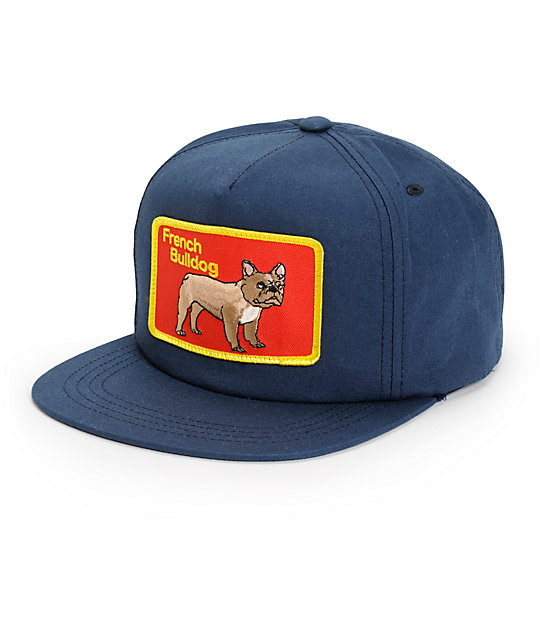 314e16b28fb Dog Limited French Bulldog Snapback Hat