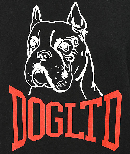 Dog Limited Heavyweight Black T-Shirt