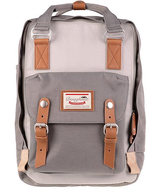 podgląd wykwintny styl przystojny Doughnut Macaroon Ivory & Light Grey Backpack