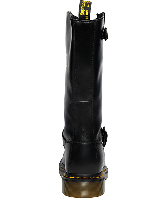 Dr. Martens Case Black Engineer Boot