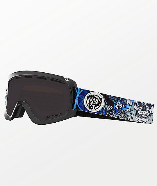 db8aded6a91 Dragon D1 OTG Schoph Asymbol Dark Smoke Ion Snowboard Goggles ...