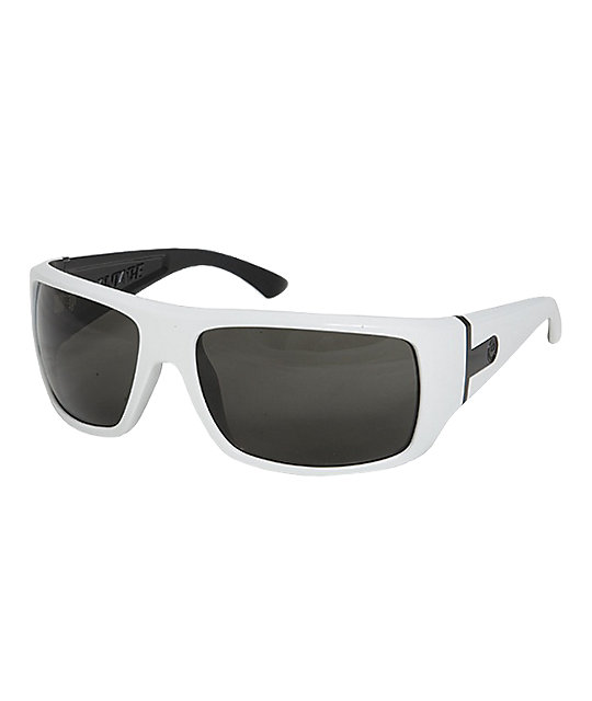 Dragon Vantage White & Black Sunglasses