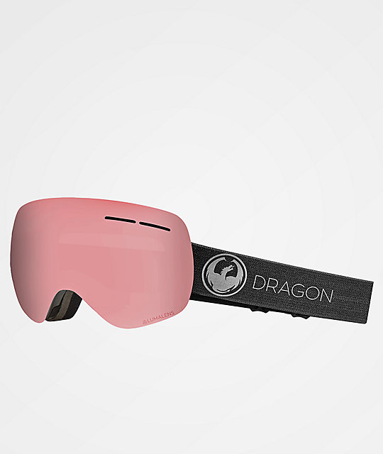 Dragon X1s Echo Photochromatic Light Rose Snowboard Goggles