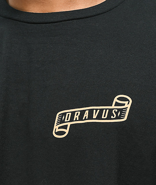 Dravus Break The Arrow Black T-Shirt