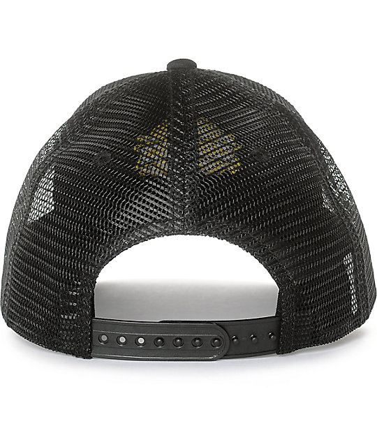 Dravus Burch Black Snapback Hat