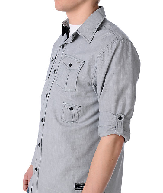 Dravus Cooler King Black Woven Shirt