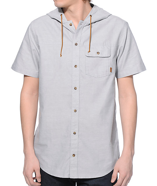 Dravus Ebs Brother Hooded Button Up Shirt