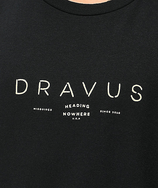 Dravus Elements Black T-Shirt