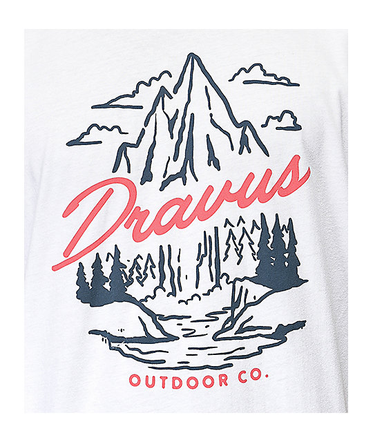 Dravus Elevated Oasis camiseta blanca