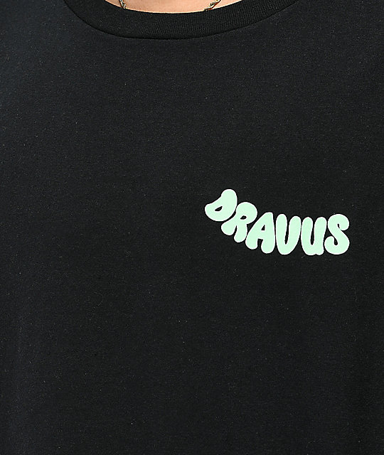 Dravus Foggy Nights camiseta negra