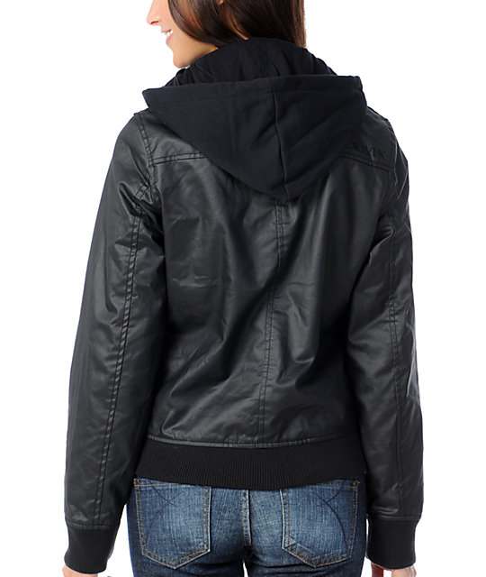 Dravus Fremont Black Wax Canvas Jacket