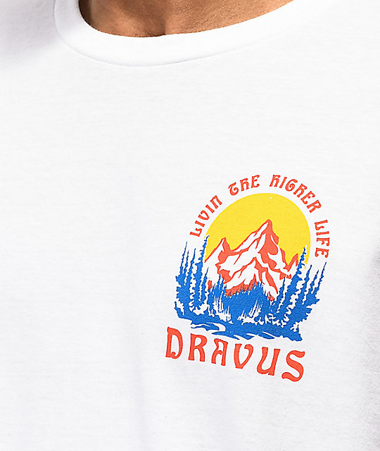 Dravus Higher Life camiseta blanca