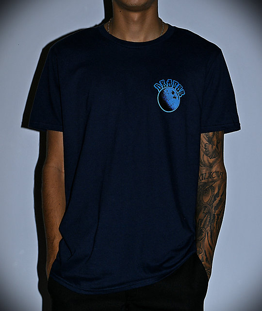Dravus Moon Navy T-Shirt