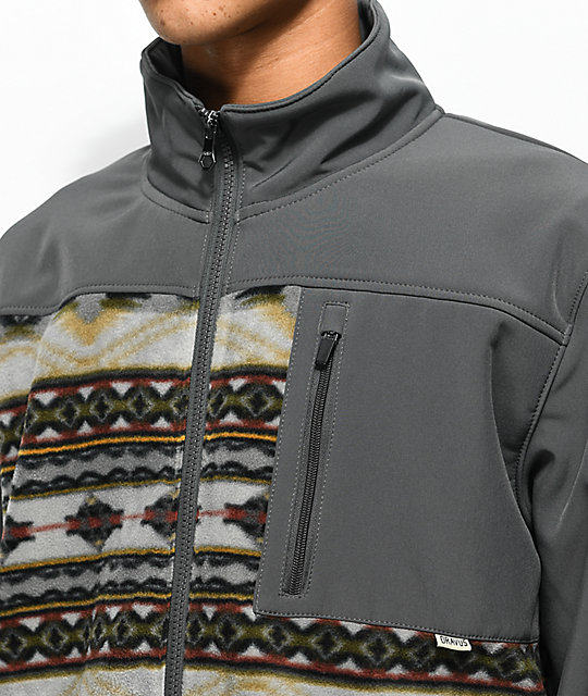 Dravus Northern Zip Up Tech Fleece Jacket