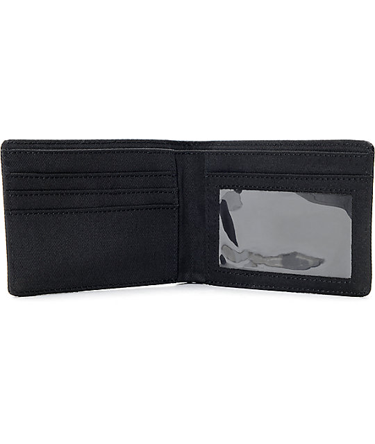 Dravus Only Black & Grey Bifold Wallet
