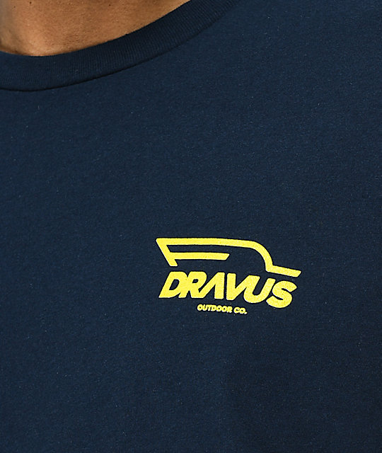 Dravus Outdoor Co. Navy T-Shirt