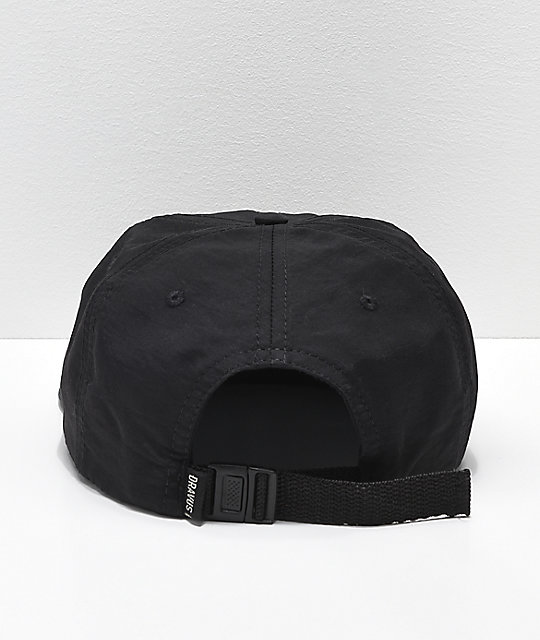 Dravus Packer Black Strapback Hat