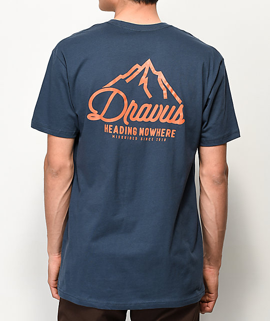 Dravus Pinnacle camiseta azul marino