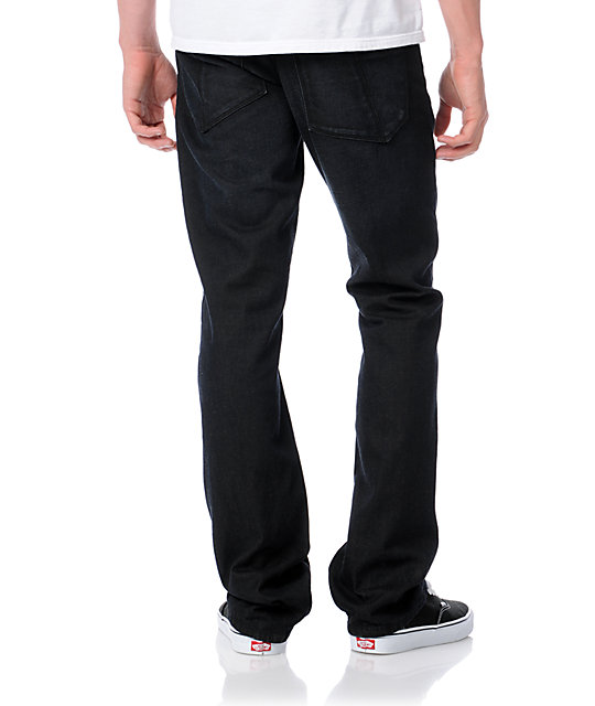 Dravus Standard Pigment Dark Blue Wash Regular Fit Jeans