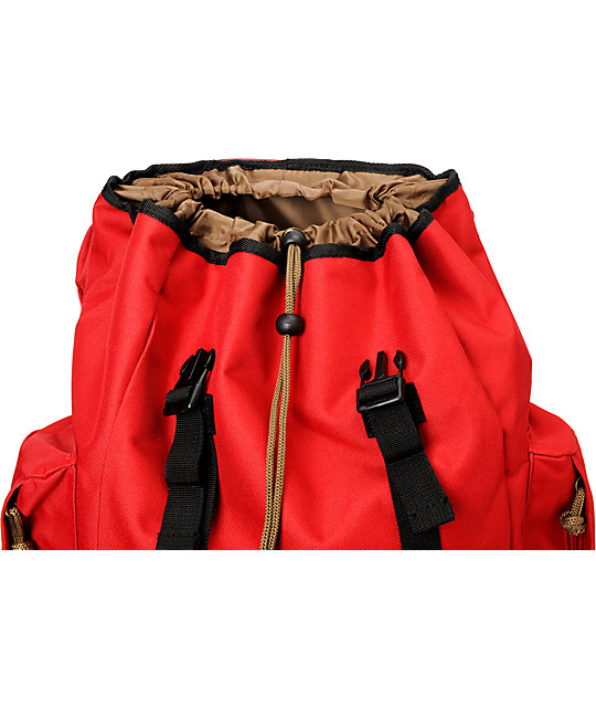 Dravus Take A Hike Red & Black Backpack