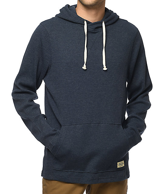 Dravus Thermo Navy Pullover Hoodie