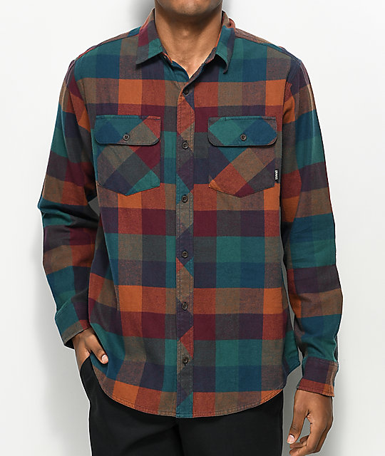Dravus Willard Sunset Flannel Shirt
