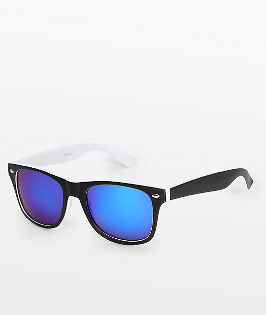 Dream On Black & White Classic Sunglasses