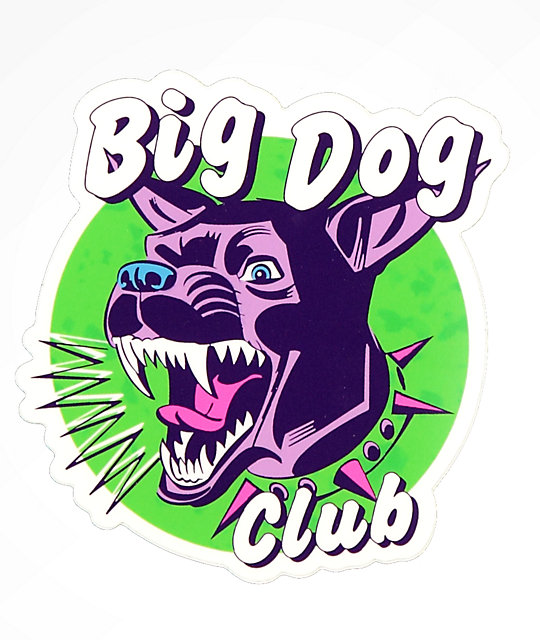 Dreamboy Big Dog Sticker