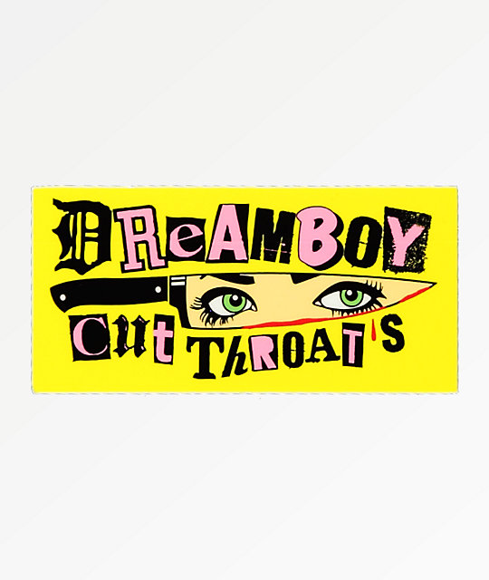 Dreamboy Cut Throats Sticker
