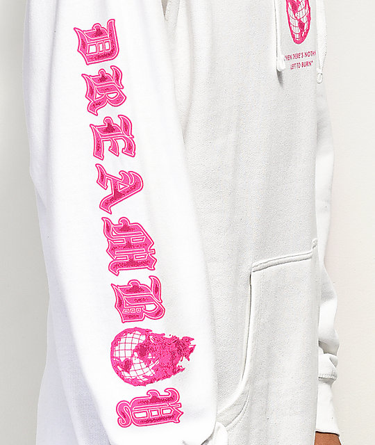Dreamboy Set Yourself White Hoodie