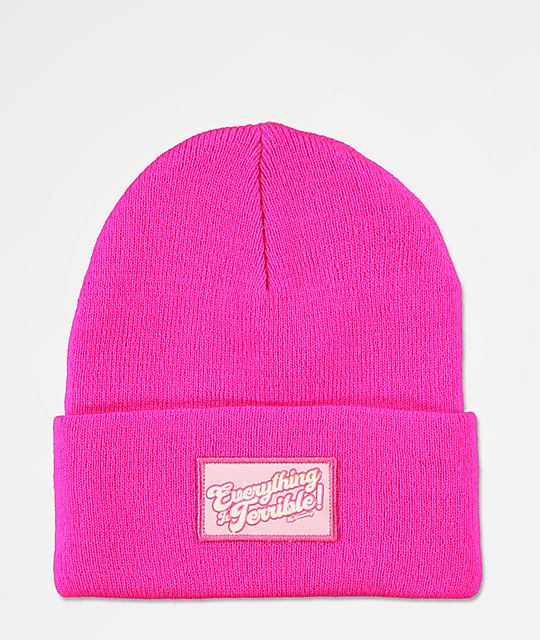 Dreamboy Terrible Pink Beanie