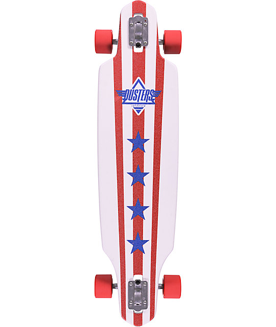 "Dusters Captain 38""  Drop Through Longboard Complete"