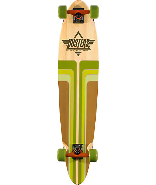 "Dusters Primo Bamboo 40""  Complete Longboard"